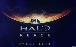"""<p>Imagen de archivo del videojuego Halo Reach mostrado en Los Angeles. Jun 1 2009 Microsoft busca revertir la reciente caída en el mercado de los videojuegos y dar inicio a la temporada de compras de Navidad con el lanzamiento el martes de la última versión de su exitoso videojuego """"Halo"""". REUTERS/Fred Prouser/ARCHIVO</p>"""