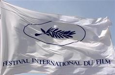 <p>Логотип Международного каннского кинофестиваля, 9 мая 2000 года. 20 сентября 1946 года в Каннах прошел первый кинофестиваль. REUTERS/John Schults</p>