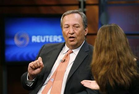 Senior White House economic adviser Lawrence Summers speaks during an interview with Reuters in Washington June 24, 2010. REUTERS/Molly Riley
