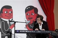 <p>Singer Ben Folds performs during the Webby Awards in New York June 14, 2010. REUTERS/Lucas Jackson</p>
