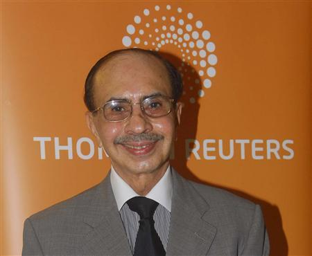 Adi Godrej, chairman of Godrej Industries Ltd., poses for a picture at the Reuters India Investment Summit in Mumbai September 27, 2010. Indian developer Godrej Properties (GODR.BO) expects revenue to jump more than 50 percent this fiscal year as rising incomes boost demand for housing, the chairman of the $2.5 billion diversified group said on Monday. REUTERS/Stringer