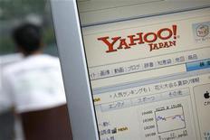 """<p>Страница поисковой системы Yahoo, Токио 19 августа 2009 года. Узнать, """"взорвет"""" ли новый фильм бокс-офис и станет ли очередная песня хитом, можно на основе результатов поиска в интернете, утверждают исследователи поисковой системы Yahoo Inc. REUTERS/Stringer</p>"""