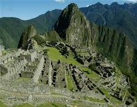<p>A view of the Inca citadel of Machu Picchu in Cuzco in this November, 2003 file photo. REUTERS/Pilar Olivares</p>