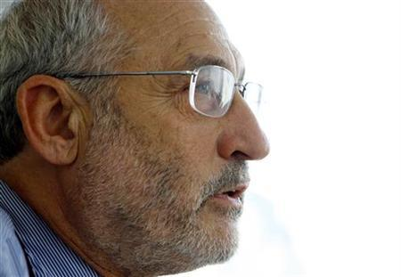 Economist and Nobel laureate Joseph Stiglitz in a file photo. REUTERS/Mike Segar