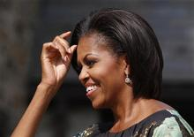 <p>Michelle Obama antes de participar de Assembleia Geral da ONU em Nova York. A primeira-dama dos Estados Unidos liderou o ranking anual das mulheres mais poderosas do mundo, divulgado na quarta-feira pela revista Forbes. 24/09/2010 REUTERS/Jessica Rinaldi</p>