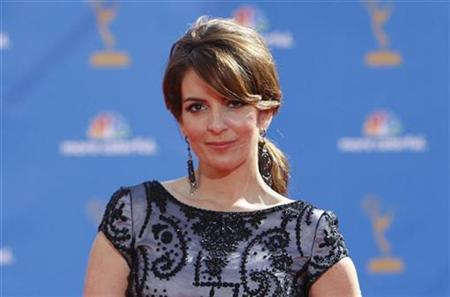 Actress Tina Fey from the comedy series '30 Rock' poses at the 62nd annual Primetime Emmy Awards in Los Angeles, California August 29, 2010. REUTERS/Mario Anzuoni