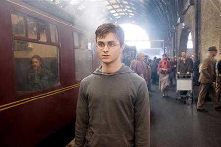 Daniel Radcliffe as Harry Potter. REUTERS/Warner Bros Pictures