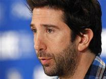 "<p>Director David Schwimmer speaks during the news conference for the film ""Trust"" at the 35th Toronto International Film Festival September 11, 2010. REUTERS/Mike Cassese</p>"