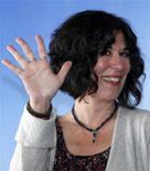 """<p>Diretora Debra Granik divulga seu filme """"Winter's Bone"""" no festival de cinema norte-americano em Deauville. O filme foi indicado em três categorias para os prêmios Gotham de cinema independente. 05/09/2010 REUTERS/Vincent Kessler</p>"""