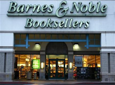 A Barnes and Noble book store is shown here in Encinitas May 20, 2008. Barnes & Noble, Inc. (BKS) will report first quarter earnings May 22, 2008. REUTERS/Mike Blake