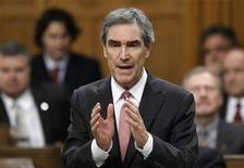 <p>Liberal leader Michael Ignatieff speaks during Question Period in the House of Commons on Parliament Hill in Ottawa October 19, 2010. REUTERS/Chris Wattie</p>