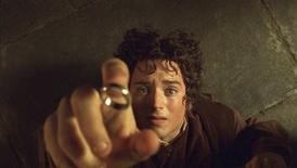 "<p>Actor Elijah Wood portrays Hobbit Frodo in a scene from the film ""The Lord of The Rings The Fellowship of The Ring"" in this undated publicity handout photograph. REUTERS/Handout/Files</p>"