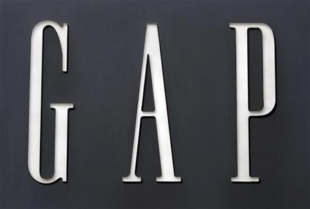 A sign for the Gap clothing store in Washington August 17, 2007. REUTERS/Kevin Lamarque