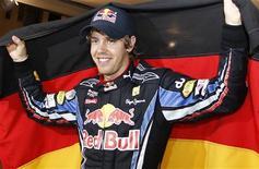 <p>Piloto da Red Bull Sebastian Vettel afirmou ter se acertado com seu colega de equipe Mark Webber após a corrida de domingo em Abu Dhabi. REUTERS/Ahmed Jadallah</p>