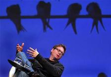<p>Biz Stone, co-founder of Twitter, speaks at the Charles Schwab IMPACT 2010 conference in Boston, Massachusetts in this October 28, 2010 file photo. REUTERS/Adam Hunger</p>