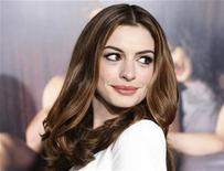 <p>Actress Anne Hathaway poses at the world premiere of her and co-star Jake Gyllenhaal's film 'Love & Other Drugs' at the opening night gala at AFI Fest 2010 in Hollywood , California November 4, 2010. REUTERS/Fred Prouser</p>