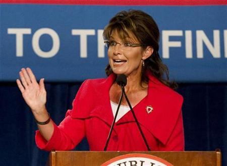 Former Alaska governor Sarah Palin in Orlando, Florida October 23, 2010. REUTERS/Scott Audette