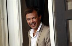 <p>Французский режиссер Франсуа Озон на Венецианском кинофестивале 4 сентября 2010 года. Ниже представлен список фильмов, выходящих в российский кинопрокат в четверг, 25 ноября. REUTERS/Alessandro Bianchi</p>