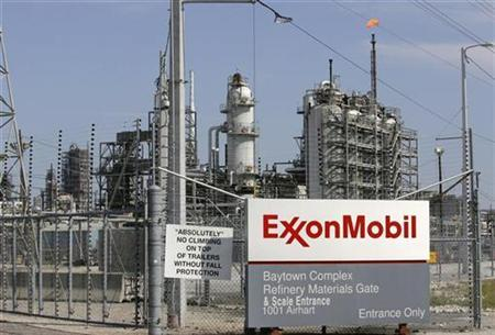 A view of the Exxon Mobil refinery in Baytown, Texas in this September 15, 2008 file photo. REUTERS/Jessica Rinaldi