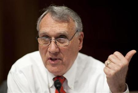 Senator Jon Kyl (R-AZ) questions U.S. Supreme Court nominee Judge Sonia Sotomayor during her Senate Judiciary Committee confirmation hearings on Capitol Hill in this July 14, 2009 file photo. REUTERS/Joshua Roberts