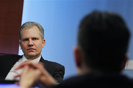 Arthur Sulzberger, Jr., chairman of The New York Times Company, listens at the Reuters Global Media Summit in New York, November 30, 2010. REUTERS/Brendan McDermid