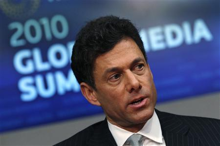 Take-Two Interactive's Chairman Strauss Zelnick speaks at the Reuters Global Media Summit in New York December 1, 2010. REUTERS/Mike Segar
