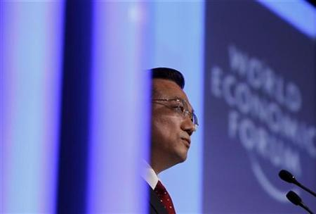 China's Vice-Premier Li Keqiang attends a session at the World Economic Forum (WEF) in Davos January 28, 2010. REUTERS/Christian Hartmann