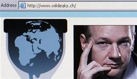 <p>El sitio web de WikiLeaks desplegado en un computador en Zurich. Dic 4 2010 Las estadísticas de China sobre el Producto Interno Bruto están hechas por humanos y por lo tanto no son confiables, dijo en el 2007 el hombre que es candidato a convertirse en el próximo jefe de Gobierno del país, según cables diplomáticos estadounidenses publicados por WikiLeaks. REUTERS/Christian Hartmann</p>