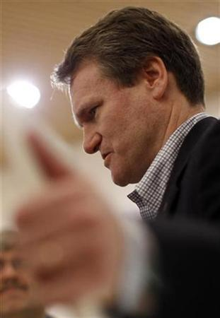 Brian Moynihan, CEO of Bank of America is pictured at the congress centre of the Alpine resort of Davos, the venue of the World Economic Forum (WEF), January 30, 2010. REUTERS/Michael Buholzer