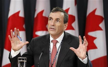 Canada's Environment Commissioner Scott Vaughan speaks during a news conference in Ottawa December 7, 2010. REUTERS/Chris Wattie