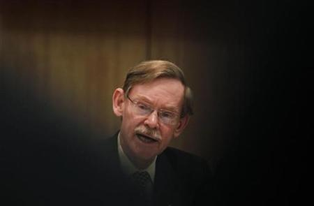 World Bank President Robert Zoellick speaks during a news conference in Nagoya, central Japan October 28, 2010. REUTERS/Yuriko Nakao