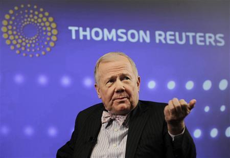 Jim Rogers, chairman of Rogers Holdings, speaks at the Reuters Investment Outlook Summit in New York December 7, 2010. REUTERS/Brendan McDermid