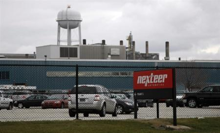 Auto parts manufacturing plant Nexteer Automotive, formerly the steering unit of General Motors, is seen in the Buena Vista township of Saginaw, Michigan November 18, 2010. REUTERS/Rebecca Cook