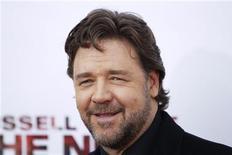 """<p>Russell Crowe na estreia do filme """"72 horas"""" em Nova york. 09/11/2010 REUTERS/Lucas Jackson/Arquivo</p>"""