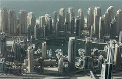 <p>An aerial view of the Dubai Marina in this October 25, 2010 file photo. REUTERS/Ahmed Jadallah</p>