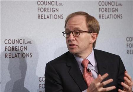 Steven Rattner, Former Head of U.S. Treasury Department's Auto Task Force in New York, November 19, 2009. REUTERS/Brendan McDermid
