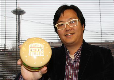 Ben Huh, founder and CEO of the Cheezburger Network, at the company's office in Seattle, Washington on December 21, 2010. REUTERS/Natalie Armstrong