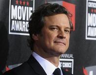 """<p>Foto de archivo del actor Colin Firth a su llegada a la entrega de los premios Critics' Choice en Hollywood, ene 14 2011. """"The King's Speech"""", un drama británico que narra los esfuerzos del monarca Jorge VI por superar su tartamudez antes del inicio de la Segunda Guerra Mundial, encabezó el martes las candidaturas a los Oscar con 12 nominaciones. REUTERS/Phil McCarten</p>"""