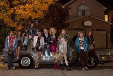 "<p>Cast members from the MTV drama series 'Skins' are shown in this undated publicity photograph. A television watchdog group, on January 20, 2011 asked the U.S. government to open a child pornography investigation into the new MTV series ""Skins."" The Parents Television Council, which has 1.3 million members, said the drama about, and starring, teens as young as 15 years old could violate U.S. laws against the sexual exploitation of minors and statutes against child pornography. MTV declined last Thursday to comment specifically on the PTC request for a government probe but has expressed confidence that the show ""will not only comply with all applicable legal requirements, but also with our responsibilities to our viewers."" REUTERS/MTV/Handout</p>"
