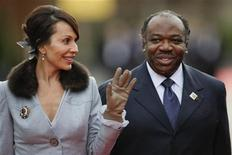<p>Gabon's First Lady Sylvia Bongo Ondimba and Gabon's President Ali Bongo Ondimba arrive at the opening ceremony of the Francophone Summit in Switzerland, October 23, 2010. REUTERS/Valentin Flauraud</p>