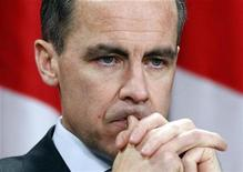 <p>Bank of Canada Governor Mark Carney takes part in a news conference upon the release of the Monetary Policy Report in Ottawa January 19, 2011 REUTERS/Chris Wattie</p>