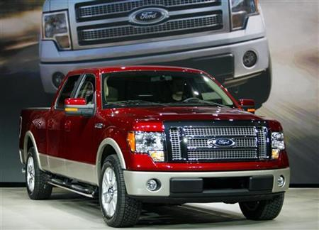A 2010 Ford F-150 pickup truck in a file photo. REUTERS/File