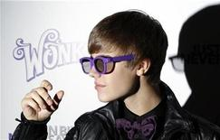 """<p>Canadian singer Justin Bieber arrives for the premiere of the 3D film """"Justin Bieber: Never Say Never """" in New York February 2, 2011. REUTERS/Lucas Jackson</p>"""