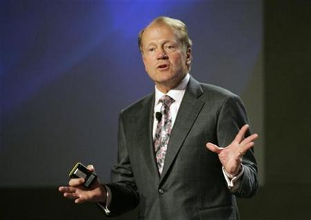 John Chambers, CEO of Cisco Systems, speaks during a news conference at at the 2010 International Consumer Electronics Show (CES) in Las Vegas, Nevada, January 6, 2010. REUTERS/Steve Marcus