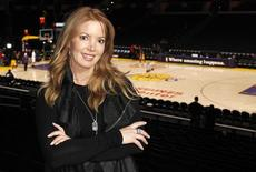 <p>Jeanie Buss, Los Angeles Lakers Executive Vice President of Business Operations, poses for a portrait in the Staples Center before the NBA basketball game between the Los Angeles Lakers and the San Antonio Spurs in Los Angeles, February 3, 2011. REUTERS/Danny Moloshok</p>