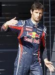<p>Mark Webber da Red Bull no circuito Ricardo Tormo, perto de Valência. Webber pode continuar na equipe atual campeã da Fórmula 1 após esta temporada, se o australiano permanecer tão rápido quanto no ano passado, disse o chefe da escuderia, Christian Horner. 02/02/2011 REUTERS/Heino Kalis</p>