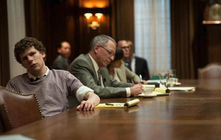 Jesse Eisenberg in ''The Social Network''. REUTERS/Columbia Pictures