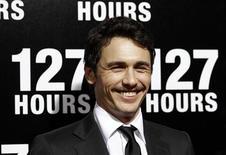 """<p>James Franco na estreia de """"127 Hours"""" em Beverly Hills, em novembro. 05/11/2010 REUTERS/Mario Anzuoni/Arquivo</p>"""