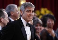 "<p>George Clooney, best actor nominee for ""Up in the Air"", arrives at the 82nd Academy Awards in Hollywood, March 7, 2010. REUTERS/Lucas Jackson</p>"