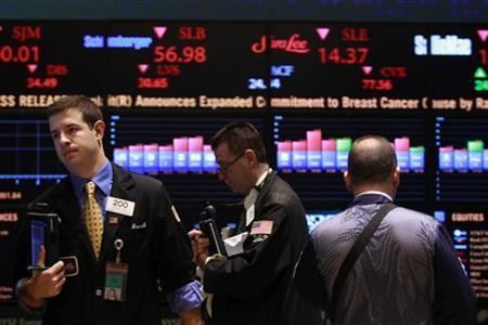 Traders work on the floor of the New York Stock Exchange, September 7, 2010. REUTERS/Brendan McDermid